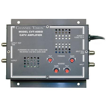 Channel Vision 1x1 38dB Bi-directional Amplifier
