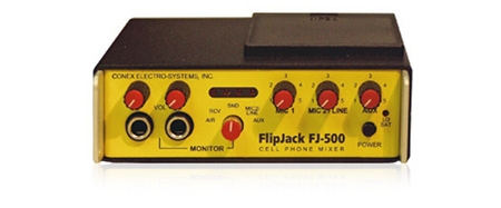 FlipJack Cellular Phone Mixer