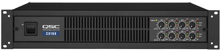 QSC CX168 8 Channels Amp 90 Watts/ch @ 8 Ohms 130 Watts/ch @ 4 Ohms