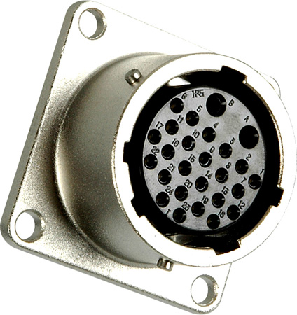EIAJ Circular 26 Pin Female Chassis Mount Connector - Digital