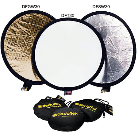 Dedolight Transparent Reflector for use with DLTFH as a soft diffuser