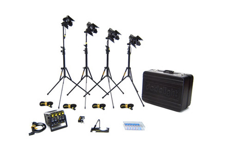 Dedolight K12B Basic Lighting Kit 100W