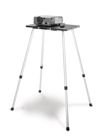 Da-Lite 42068 Deluxe Project-O-Stand 32-56 High with 11-/14 Inch x 19-Inch Top