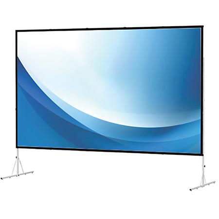 Da-Lite 88640 9x12 Ft. Fast Fold Deluxe Da-Tex (Rear) Screen