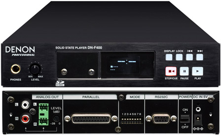 Denon DN-F400 Professional Installation Solid State Audio Player