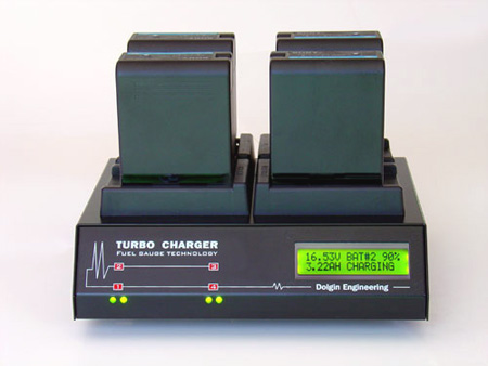 4 Position Charger with TDM - Sony