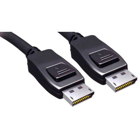 TecNec 5 Meter DisplayPort 1.1 Cable With Latches