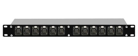 XLR to XLR Patchbay 12F-12M