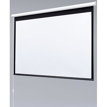 Draper 129007 50x66.5 Inch 4:3 NTSC Video Format Matt White Baronet Screen