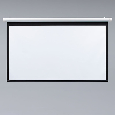 Draper 132004 Salara Matte White 84x84 Motorized Wall Screen