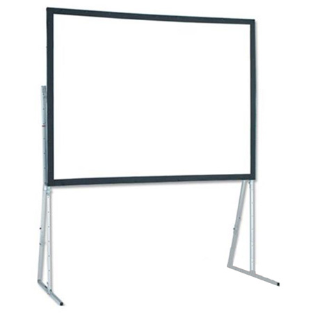 Draper 241074 Ultimate Folding Screen Complete with Standard Legs 10 Ft. NTSC Rear Cineflex