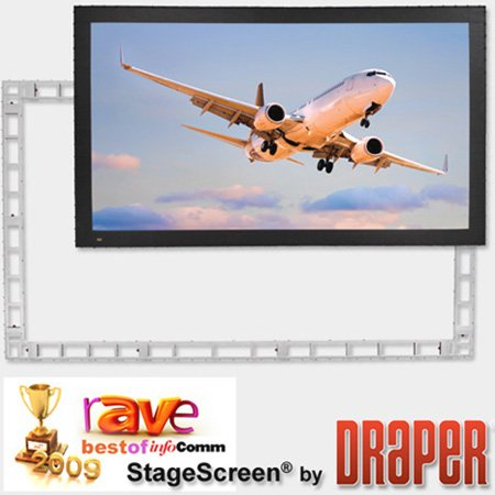 Draper 383299 StageScreen Portable Projection Screen 226 Inch 16:10 M1300