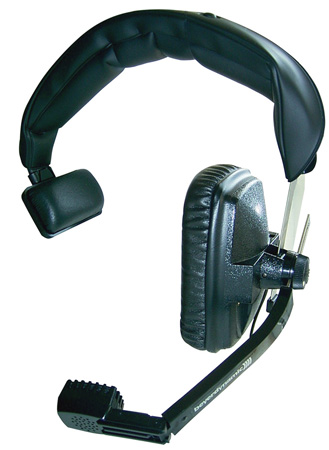 Beyerdynamic DT-108 Headset 200-400 Ohm Black with 4-Pin XLR Cable