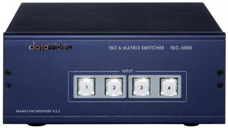 Datavideo TBC-5000 Time Base Corrector/Matrix Switcher