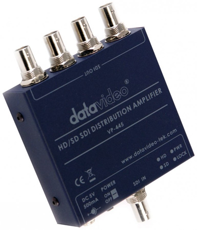 Datavideo VP-445 1x4 HD/SD SDI Distribution Amplifier
