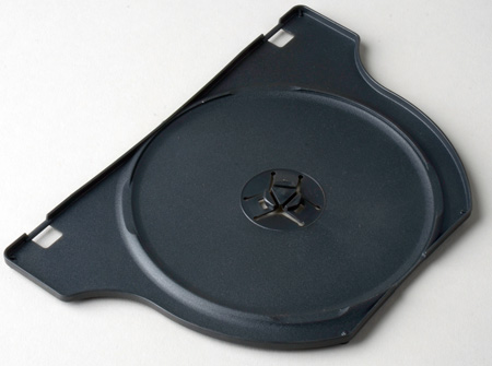 Insert Tray To Hold Second Disc In DVD-SCW2 Case
