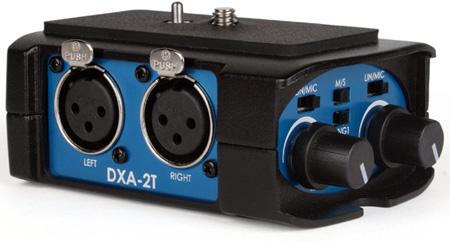 BeachTek DXA-2T Universal Dual XLR Camcorder Adapter