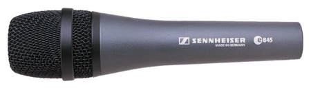 Sennheiser Dynamic Supercardioid Mic w/Switch