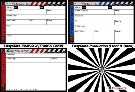 EasySlate Interview / Production and Back Focus Slate System