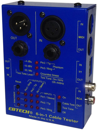 Ebtech CT 6-in-1 Cable Tester
