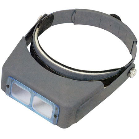 OptiVisor Magnifier 2.5X at 8in Magnification