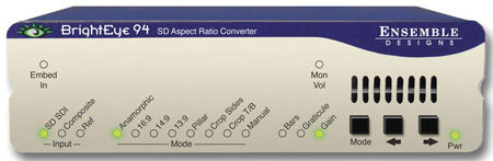 Ensemble Designs BrightEye 94 SD Aspect Ratio Converter
