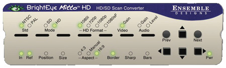 Ensemble Designs BrightEye Mitto HD / SD BEM-2 Scan Converter