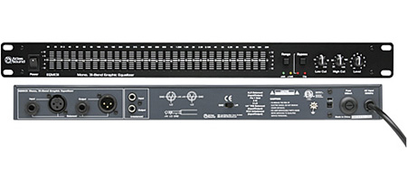 Atlas EQM131 1/3 Octave Graphic Equalizer