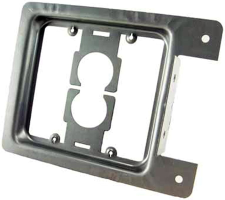 Low Voltage Double Gang Mounting Bracket