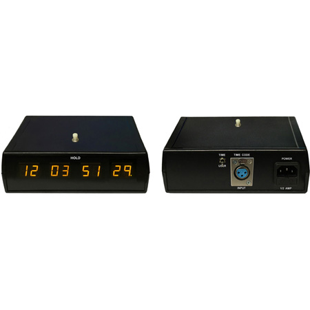 ESE ES-456 SMPTE / EBU Timecode Display