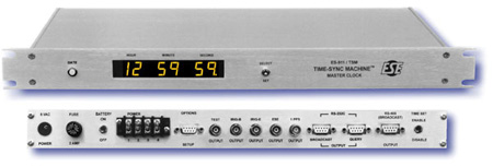 ESE The ES-911/TSM Time Sync Machine Master Clock