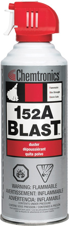 Chemtronics ES1029 152A Blast Extra-Strength 10 Ounce Duster Flammable