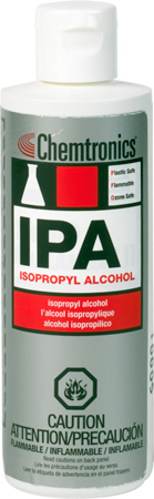 Chemtronics ES820L IPA Isopropyl Alcohol Head Cleaner - 8 Ounces