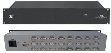 ESE ES-251 1x24 RS-232 Distribution Amplifier