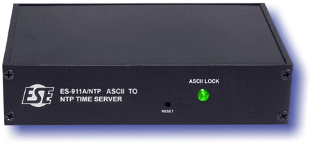 ESE ES 911A/NTP ASCII To NTP Time Server with Option P Rackmount