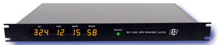 IRIG (-B or -E) MASTER CLOCK - GPS - Better than 500‡s accuracy