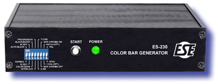 NTSC/PAL Color Bar Generator