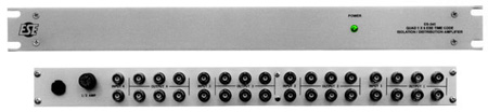 ESE ES-243 Quad 1 x 6 IRIG Distribution Amplifier