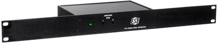 Audio Level Impedance Interface with Rack Mount