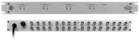 ESE Quad 1x6 Video DA 1 Rack Space