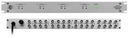 ESE Quad 1x6 Video DA 1 Rack Space (Black)