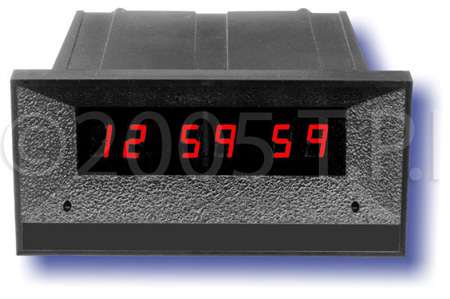 ESE ES-574U 24 Hour 7/16 Inch Digit Clock Timer with Front Mounted Switches (M)