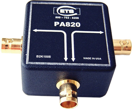 AES/EBU 75 Ohm Digital Audio Splitter with BNC Connectors