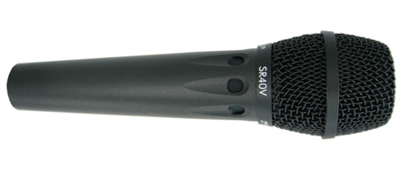 Earthworks SR40V Hypercardioid Vocal Mic 30Hz to 40kHz