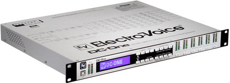 Electro Voice DC-ONE Digital Signal Processor For Speaker Management