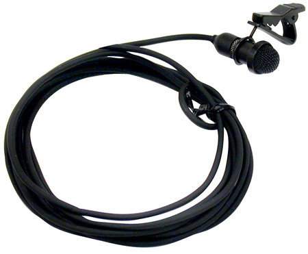 ULM21 Lapel Microphone Uni Directional Lapel Mic with TA4F Connector