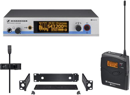 Sennheiser EW 512 G3-A-US Wireless Omni Lavalier Set (516-558 MHz)