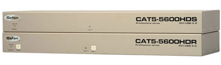Gefen EXT-CAT5-5600HD Dual Display DVI and USB 2.0 KVM Extender