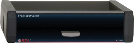 RDL EZ-SD2 Storage Drawer for EZ-RA6 or EZ-CC6 1/3 Rack Width Components