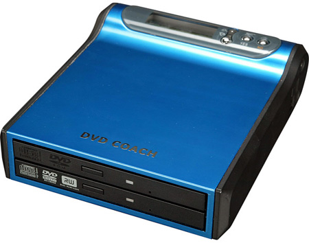 EZ Dupe Ultra-Slim Portable DVD/CD Duplicator